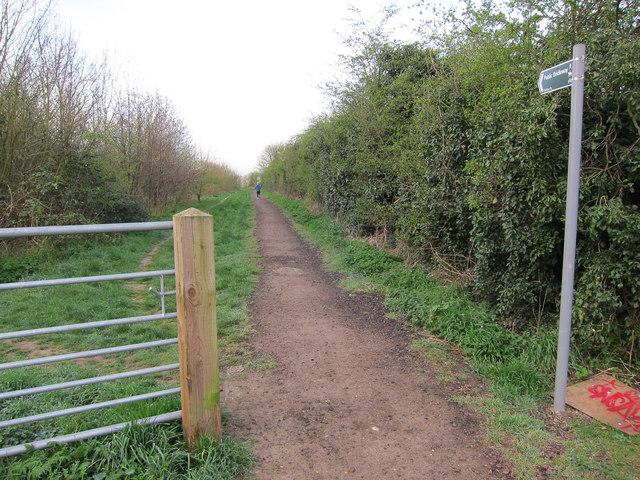 Bridleway to Girton