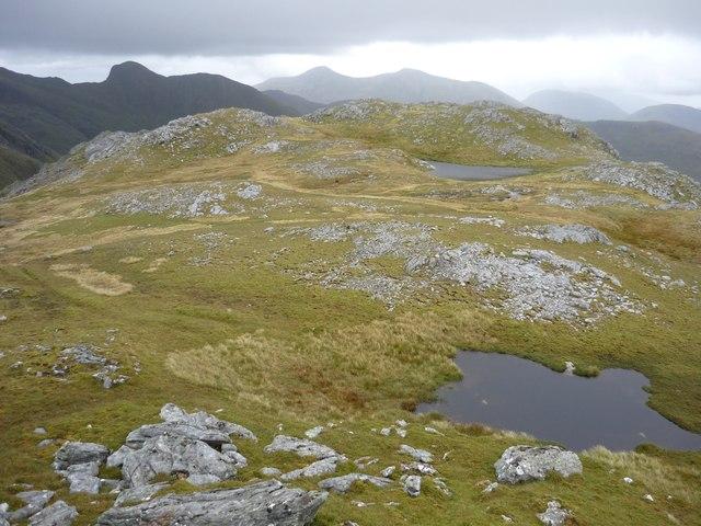 Lochans on Meall an Uillt Choire