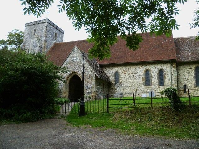 The church at Edburton