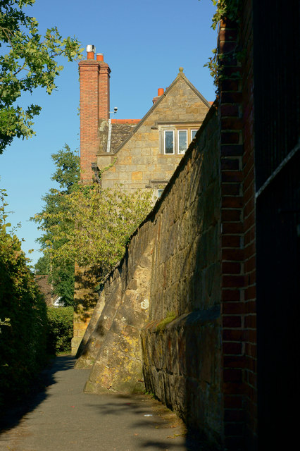 Footpath at Lingfield, Surrey