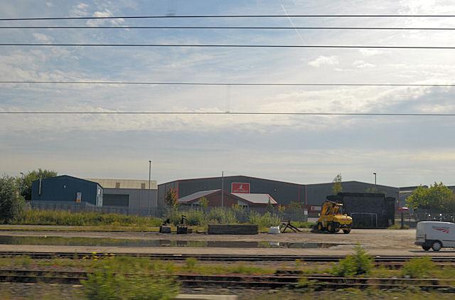 John Chorley warehouse in Dallam Lane