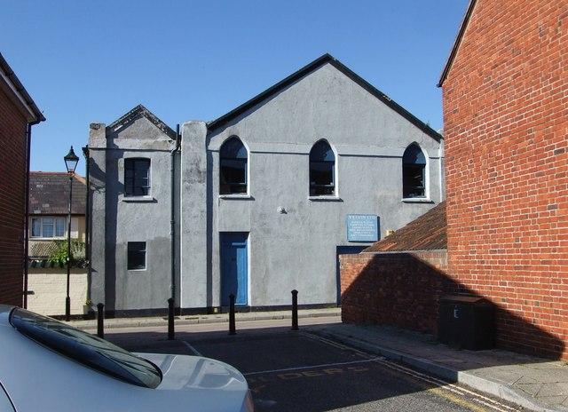 Nile Street, Emsworth: premises of Velvin Ltd
