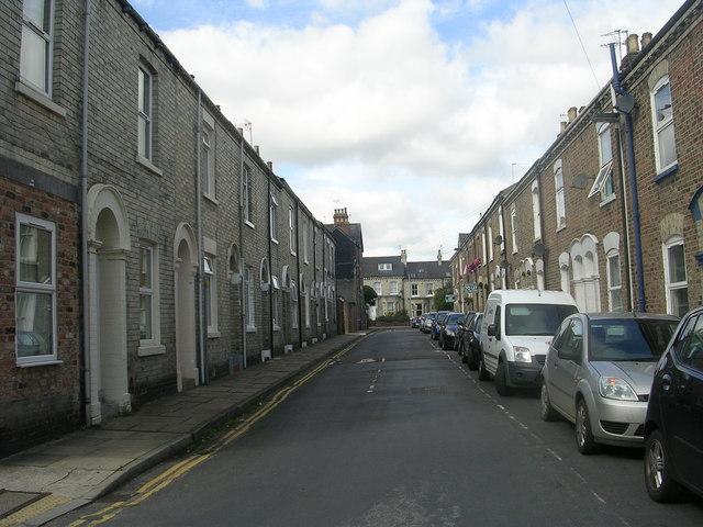 Charlton Street - looking towards Bishopthorpe Road