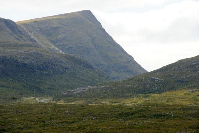 The A859 at Bealach na Ciste
