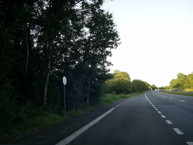 Lay-by on the A40 near Sarnau