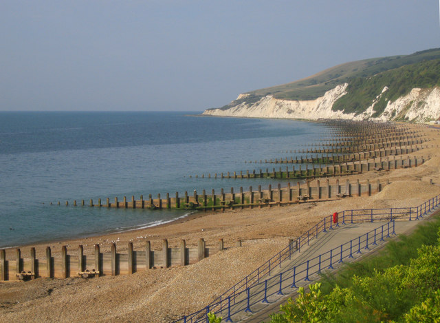 West end of Eastbourne beach