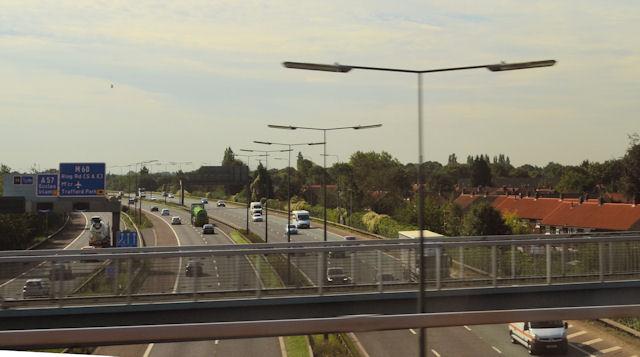 M60 south of Eccles interchange J 12