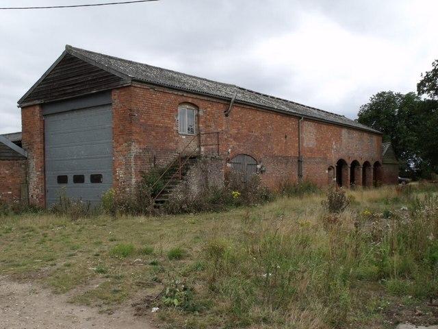 Old Barn at Vacherie Farm
