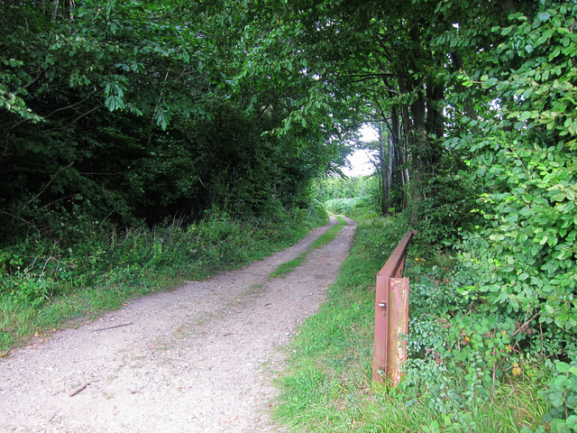 Bridleway from Stalisfield Road