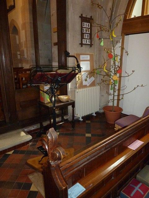 St Andrew, South Warnborough: lectern