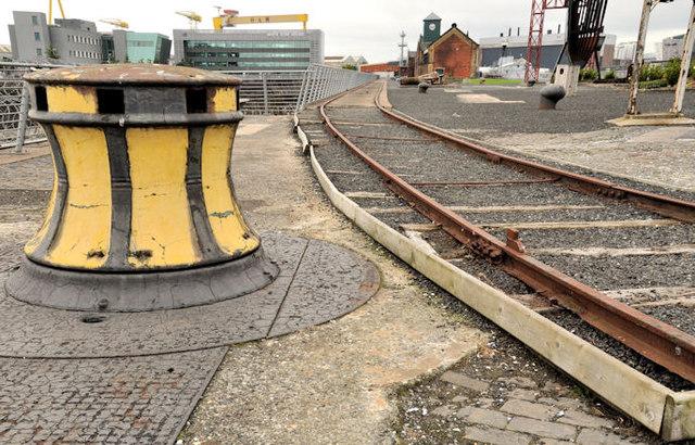 Old shipyard railway, Belfast (7)