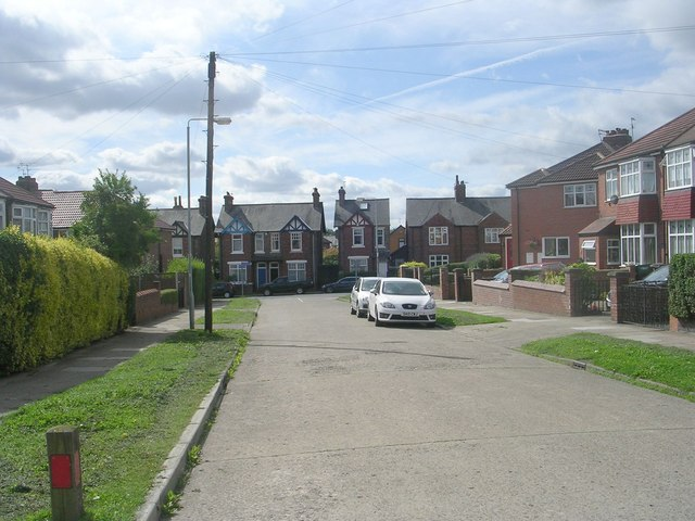 Nunthorpe Grove - viewed from Nunthorpe Crescent