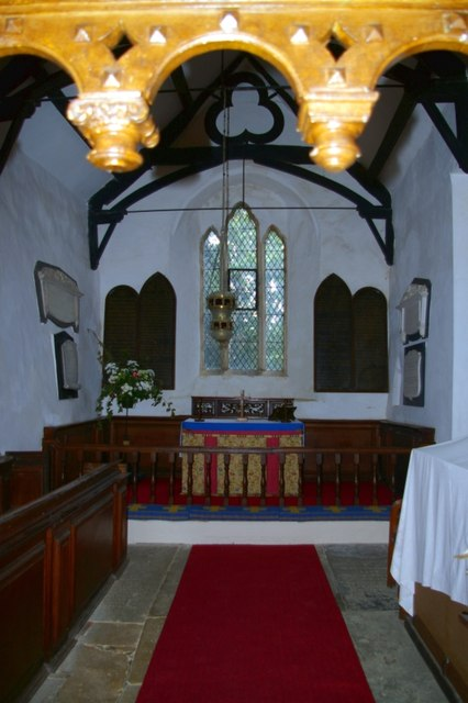 Chancel of St James the Great Church