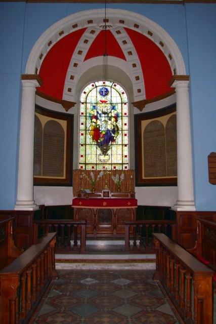 Sanctuary of All Saints' Church, Honington