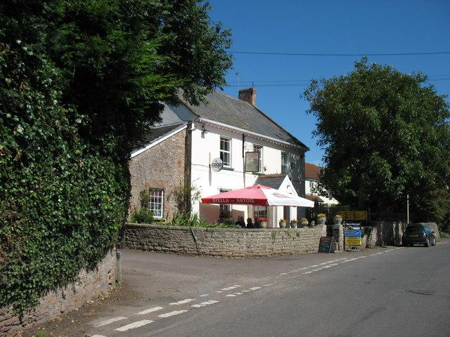 The 'Strawberry Special' pub, Draycott