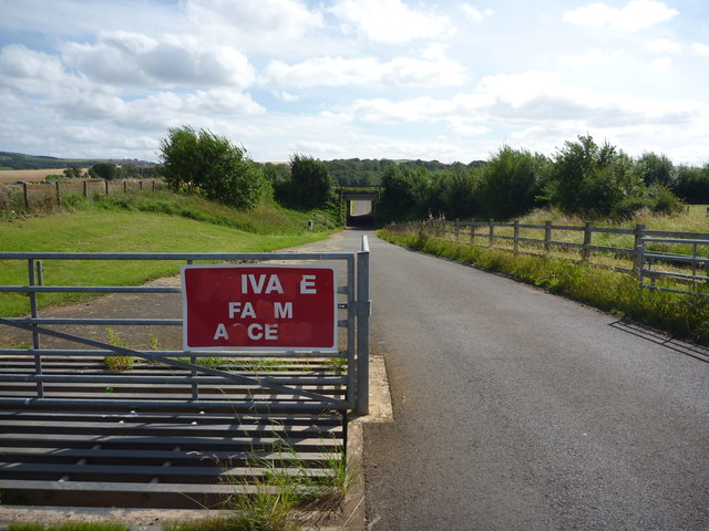 Rural East Lothian : Access Road Under The A1 at Eweford