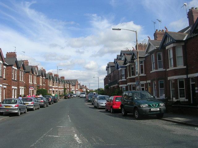 Bishopthorpe Road - viewed from Campleshon Road