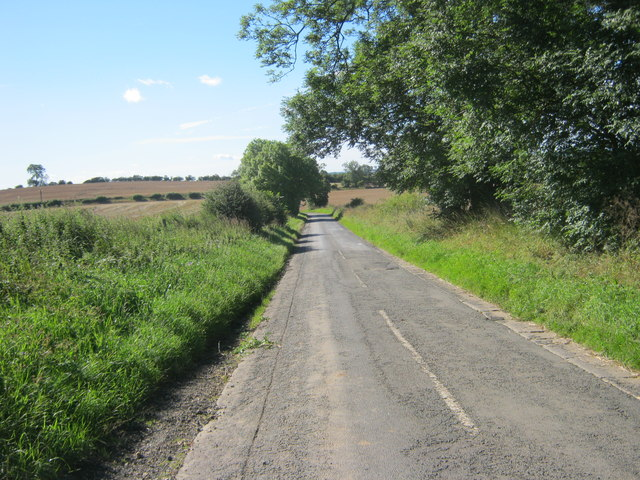 Unclassified Road south from Westerton