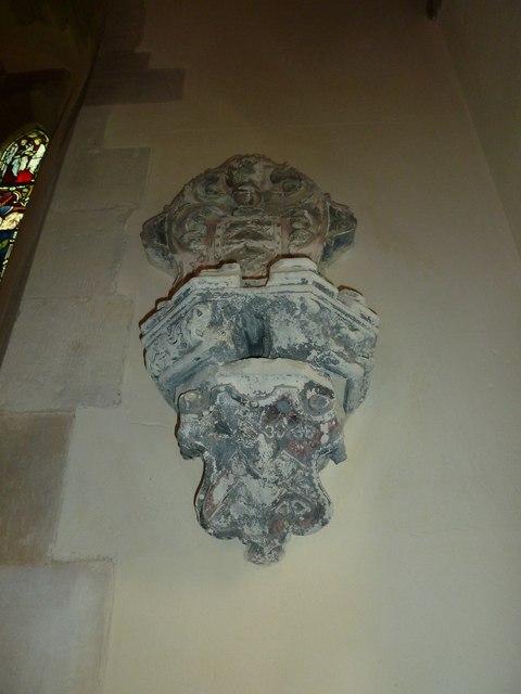 St Andrew, South Warnborough: ancient memorial
