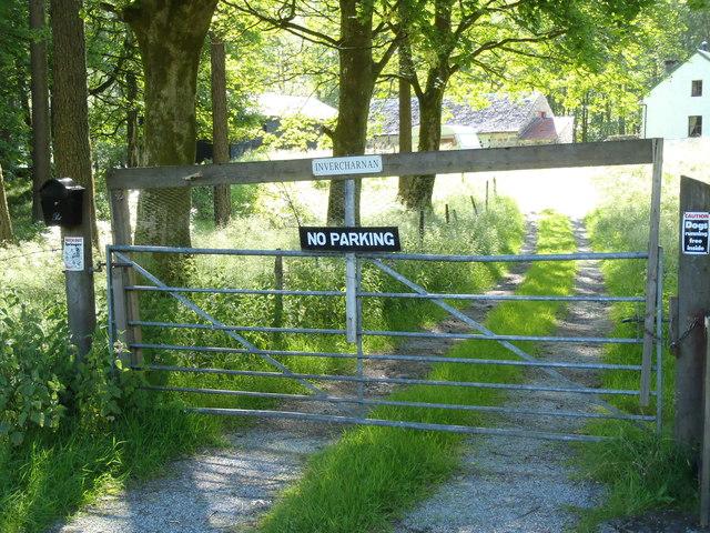 Entrance to Invercharnan