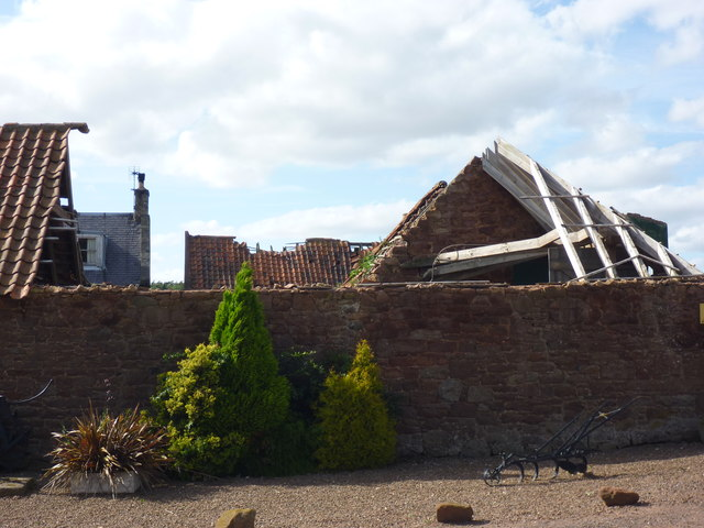 Rural East Lothian : Roofer Required at Ruchlaw West Mains