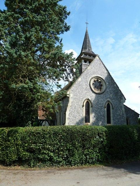 St Lawrence, Weston Patrick: eastern aspect