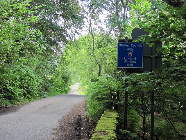 South Loch Tay Road, Allt a' Mheinn