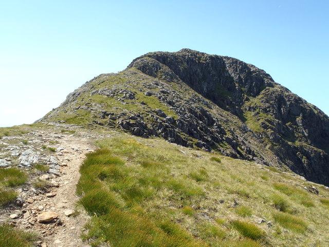 Beinn Fhionnlaidh approach from the east