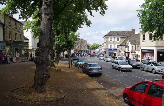 Market Square and High Street, Witney