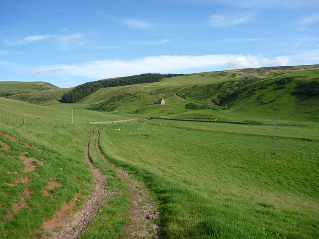 Rural East Lothian : The Track From Deuchrie To Lucknow