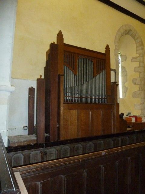 All Saints, Long Sutton: organ