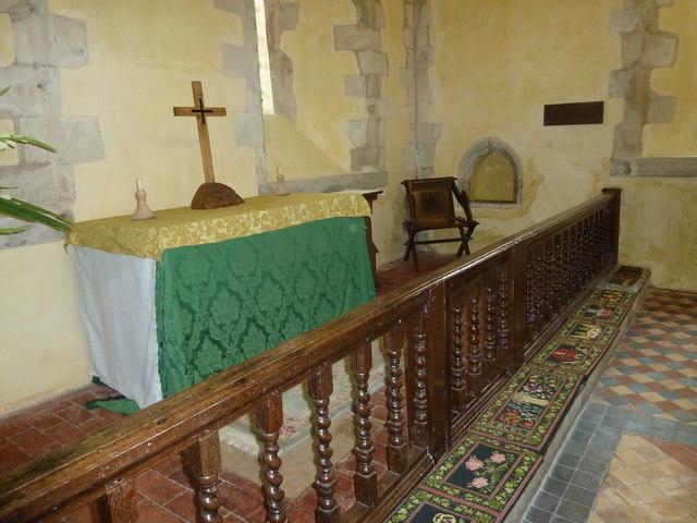 All Saints, Long Sutton: main altar