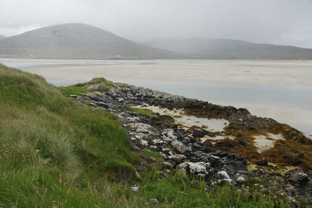 Shoreline at Losgaintir