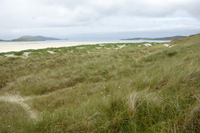 Embryonic dunes beside Losgaintir cemetery
