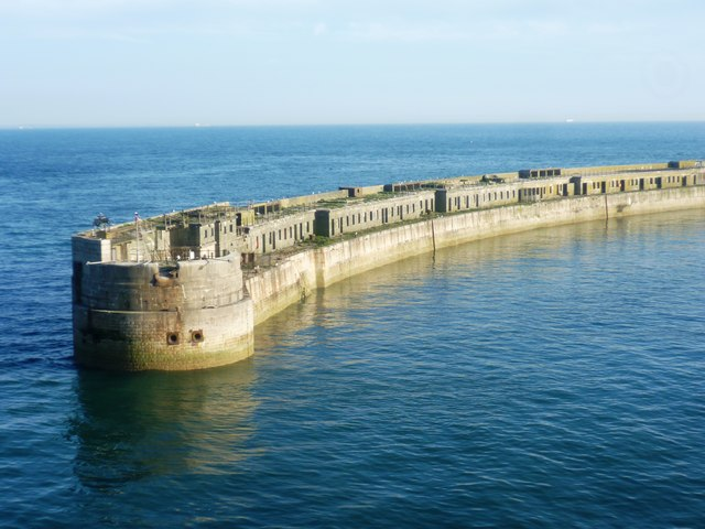 End of the Southern Breakwater
