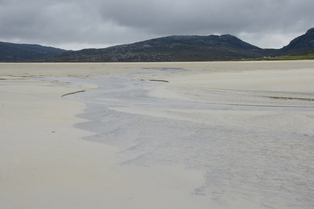 The outflow from Traigh Losgaintir in summer 2011