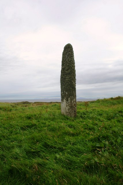 Standing Stone above Port Ellen