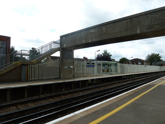 Crawley Station in August 2011