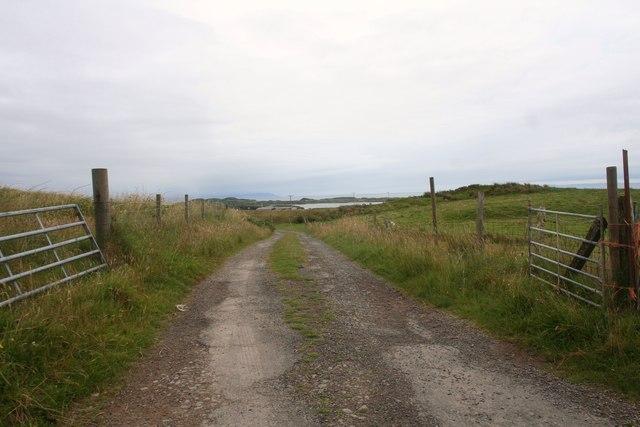 Road to Creagan Nathrach