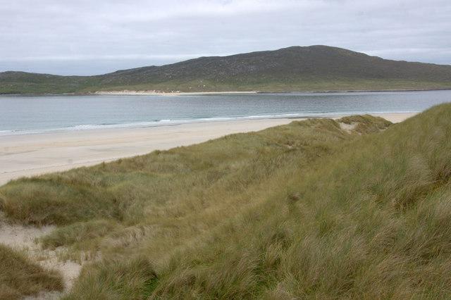 Dunes at Bruaichean Losgaintir
