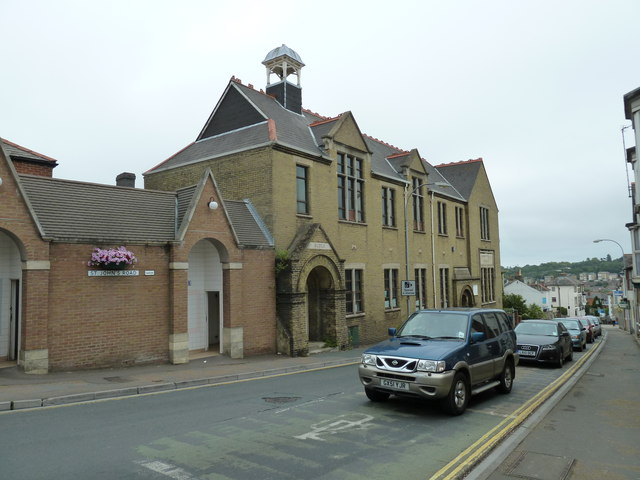 The old school in St John's Road