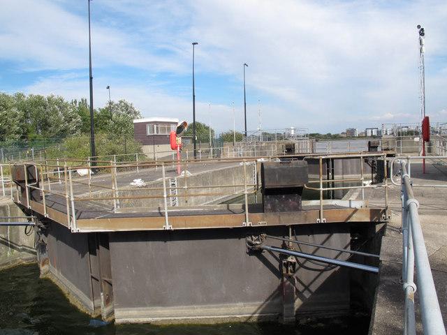 Entrance to the Royal Albert Dock