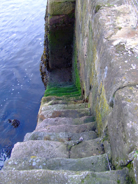 Well worn steps