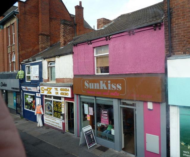 Shops on Sheffield Road, Whittington Moor