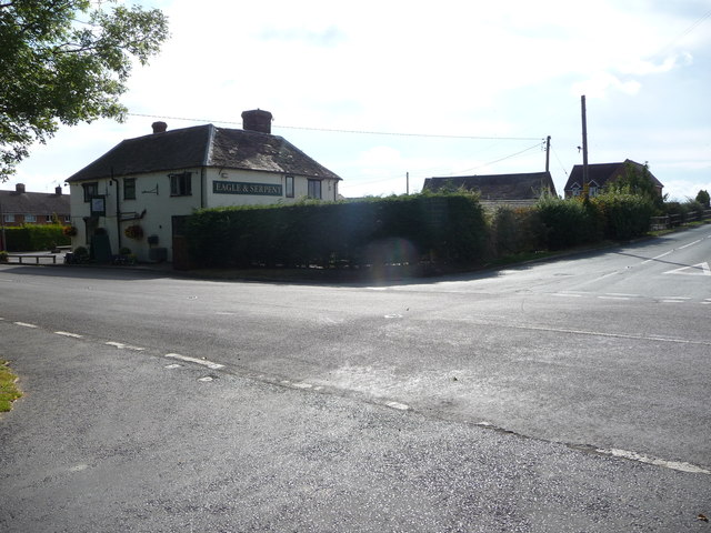 The Eagle & Serpent public house at Kinlet