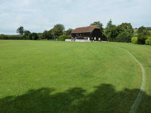 Cricket pavilion at Singleton