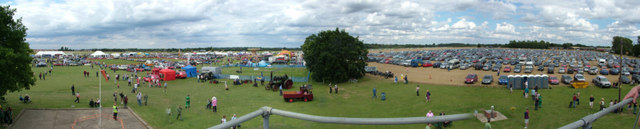 View from Control Tower, Rougham airshow