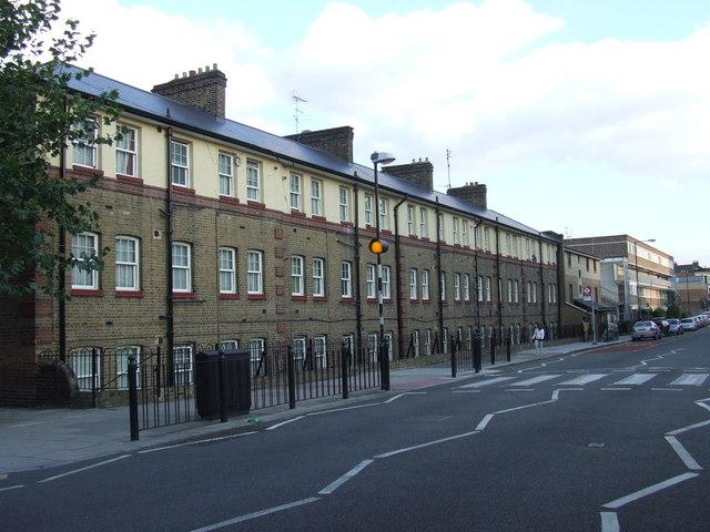 Housing in Stepney