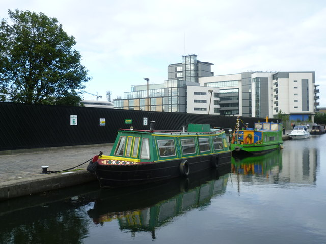 Union Canal from the Leamington Bridge