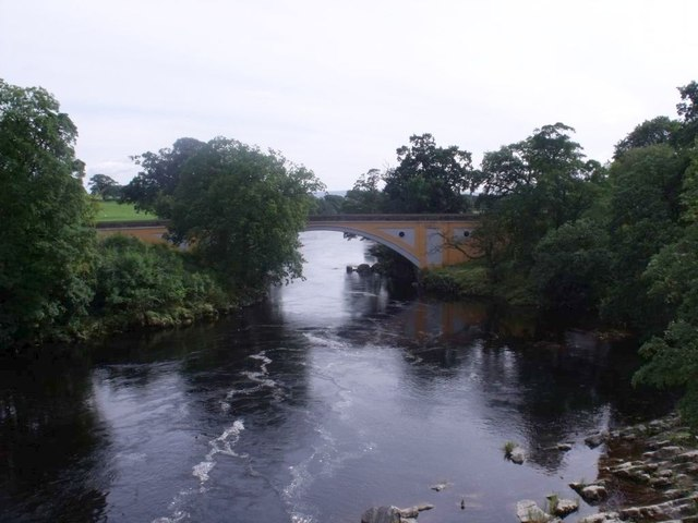 Kirkby Lonsdale, A65 bridge